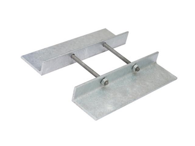Galvanized anti-immerse metal plates