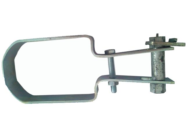 Galvanized tensioner of light type with spigot