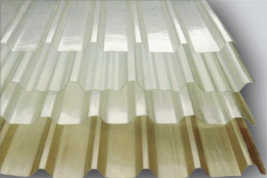 Picture of sector Metal and Acrylic Roofing Sheets