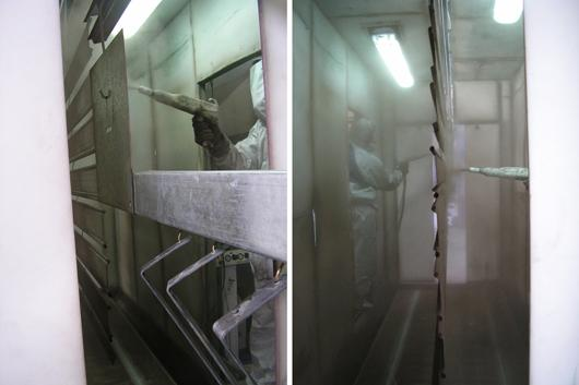 Picture of sector Electrostatic Powder Paint Oven