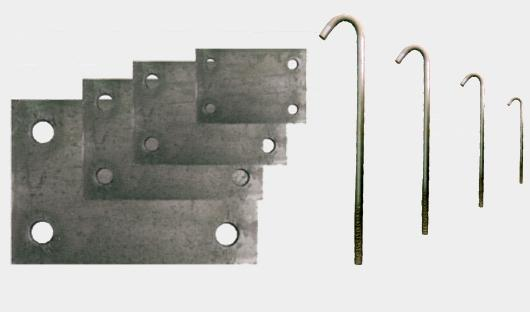 Steel Anchors and Plates