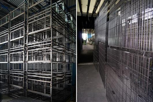 Picture of sector Reversible Cage Pallets for Wine Bottles