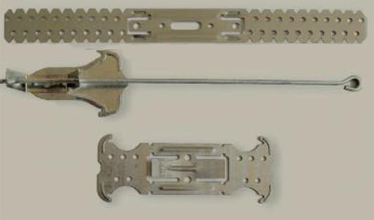 Metal Parts for Drywall Mounting